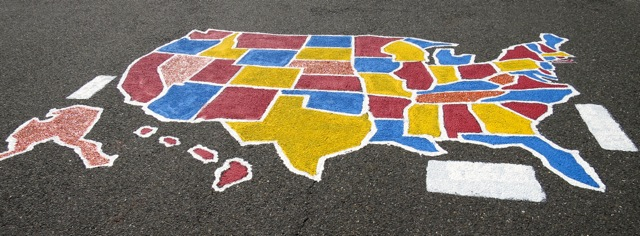 Update On The Run For Recess - Playground stencils